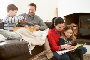 family-relaxing-in-the-living-room