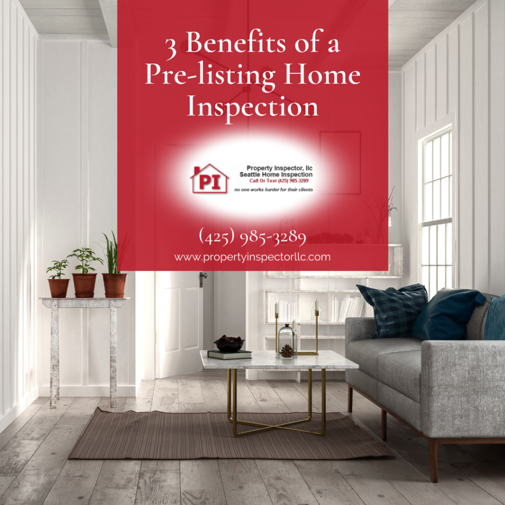 home inspection Seattle - Prelisting